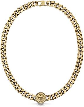 """Imágen de COLLAR GUESS JEWELLERY CURB 4DC DOTTED AYG """"21"""" 11 mm."""